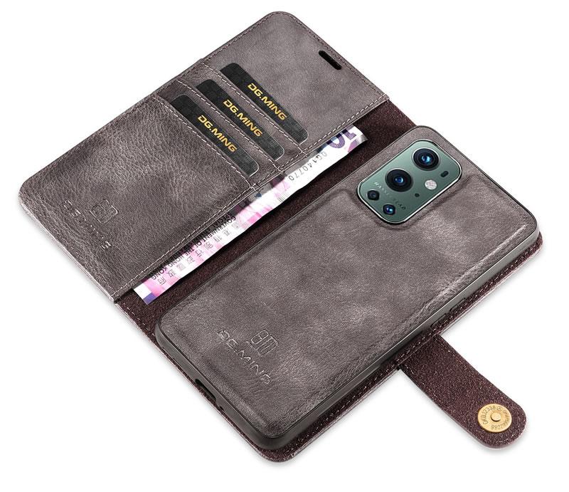 DG.MING OnePlus 9 Pro Wallet Case