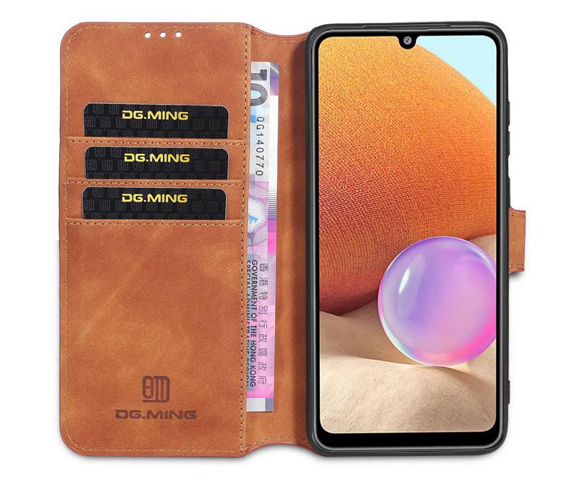 DG.MING Samsung Galaxy A32 Retro Case