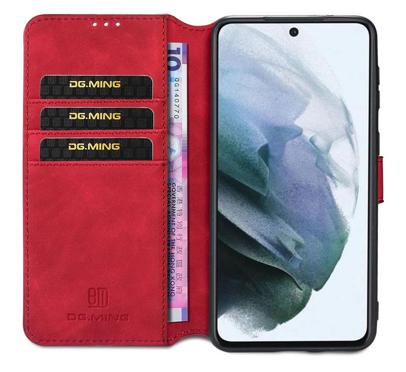 DG.MING Samsung Galaxy S21 FE Retro Case