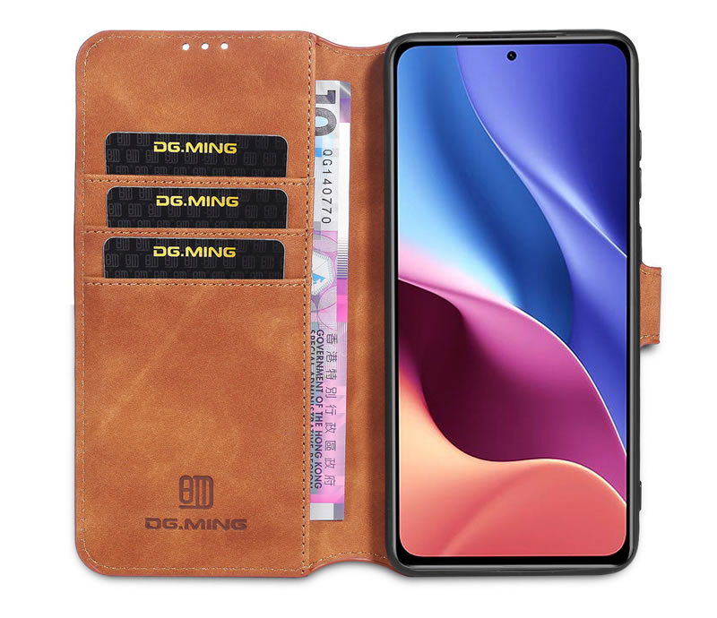 DG.MING Xiaomi Redmi K40 Pro Retro Case