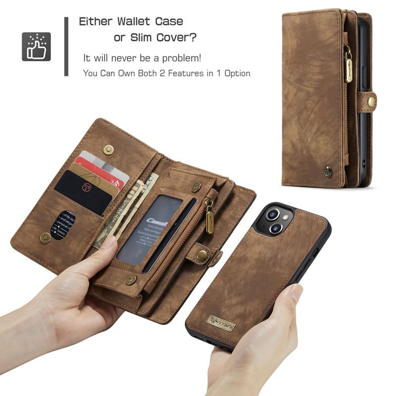 CaseMe iPhone 13 Mini Wallet Case