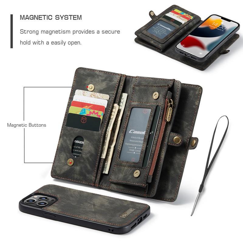 CaseMe iPhone 13 Pro Wallet Case