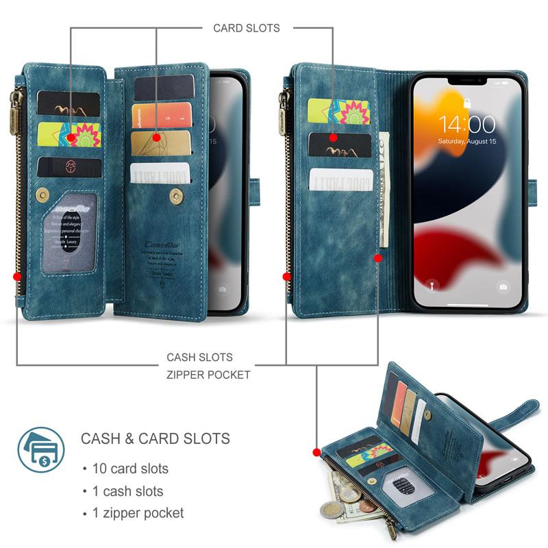 CaseMe iPhone 13 Pro Max Wallet Case