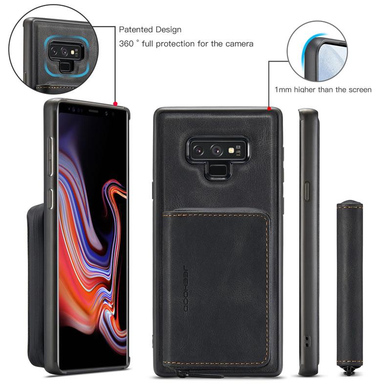 JEEHOOD Samsung Galaxy Note 9 Leather Wallet Case