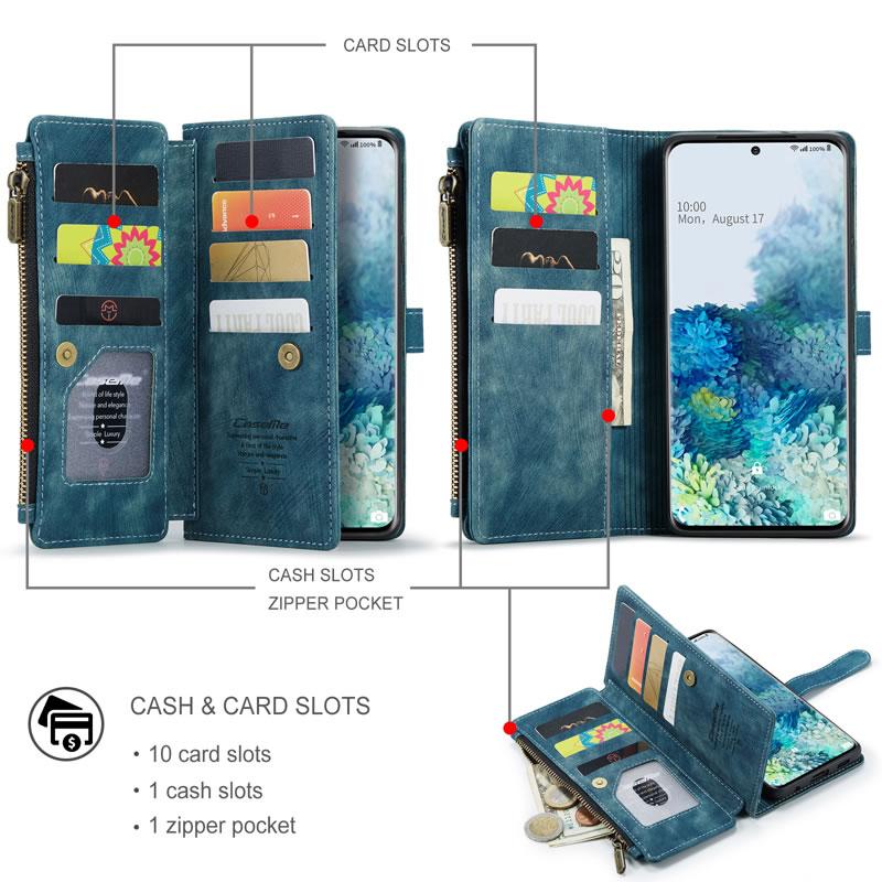 CaseMe Samsung Galaxy S20 Plus Wallet Case