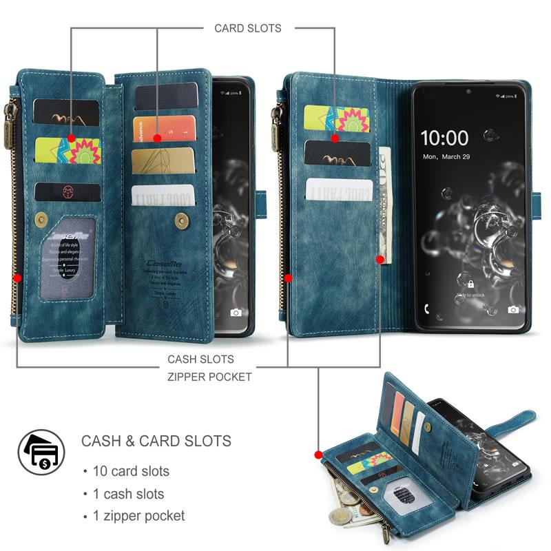 CaseMe Samsung Galaxy S20 Ultra Wallet Case