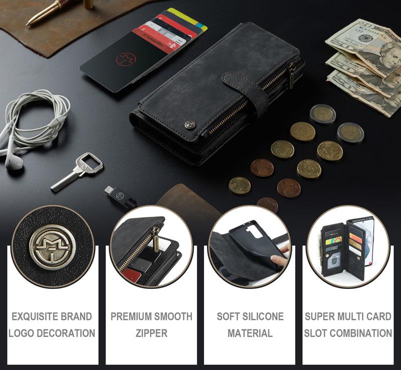 CaseMe Samsung Galaxy S21 Wallet Case