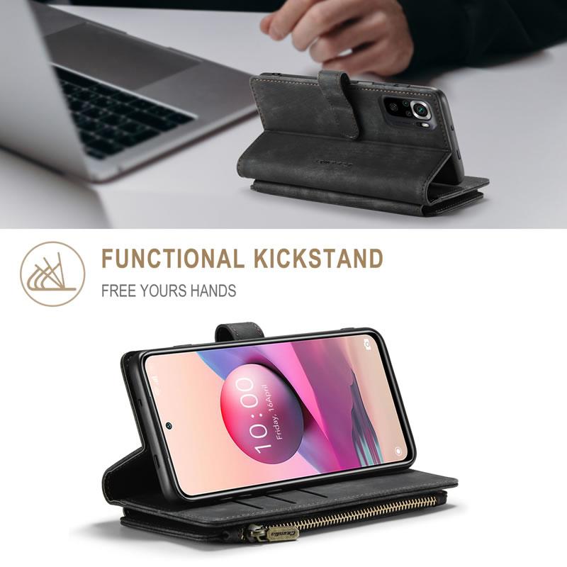 CaseMe Xiaomi Redmi Note 10 4G Wallet Case