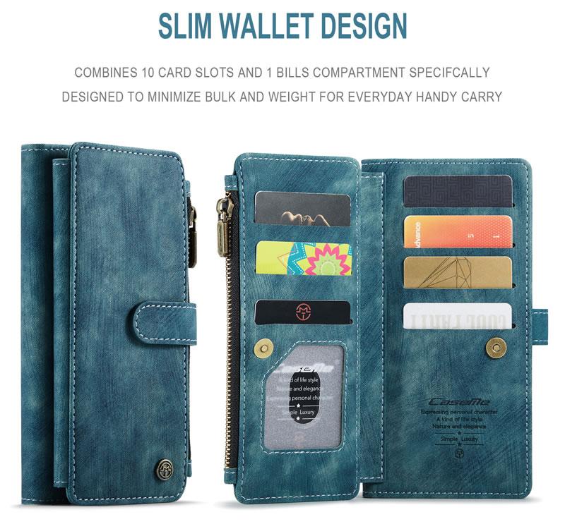 CaseMe Xiaomi Redmi Note 10 Pro Wallet Case