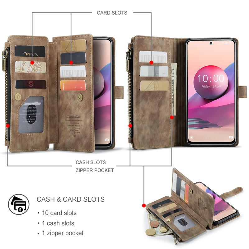 CaseMe Xiaomi Redmi Note 10 Pro Max Wallet Case