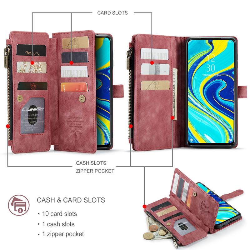 CaseMe Xiaomi Redmi Note 9 Pro Max Wallet Case